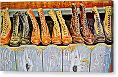 Laces Extraordinaire Acrylic Print