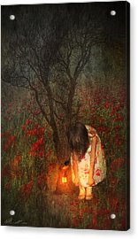 Laces Undone Acrylic Print by Svetlana Sewell