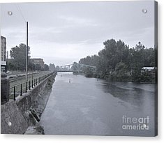 Lachine Canal At Atwater Acrylic Print