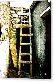 Ladder To Acrylic Print