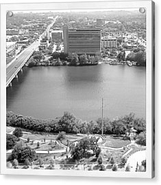 Lady Bird Lake Austin Acrylic Print by James Granberry