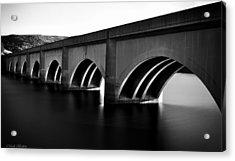 Lady Bower Bridge Acrylic Print by Mark Britten