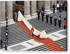 Lady Diana Spencer, 1981 Acrylic Print by Granger