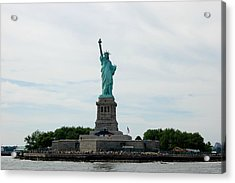 Lady Liberty Acrylic Print by Beverly Hammond