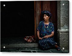 Lady Of Antigua Acrylic Print by Tom Bell