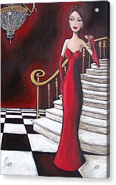 Lady Of The House Acrylic Print by Denise Daffara