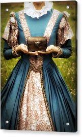 Lady With A Chest Acrylic Print by Joana Kruse