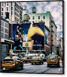 Lafayette And Houston Nyc Acrylic Print by Chris Lord