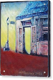 Lafitte's Blacksmith Shop From The Shortside Acrylic Print