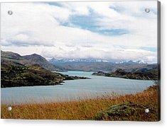 Lago Del Toro - Torres Del Paine National Park Acrylic Print by Ronald Osborne