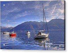 Lago Maggiore Acrylic Print by Joana Kruse