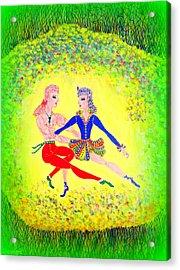 Lagoon Dancers Acrylic Print
