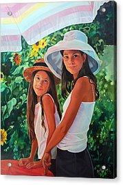 Laguna Acrylic Print by Elizabeth Shafer