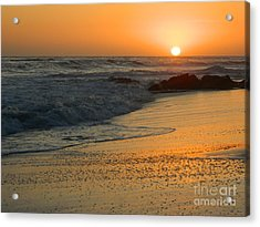 Acrylic Print featuring the photograph Laguna Sunset by Everette McMahan jr