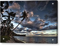 Lahaina Evening Acrylic Print by James Roemmling