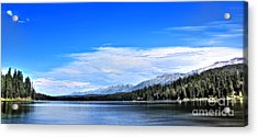 Lake Alva Acrylic Print by Janie Johnson