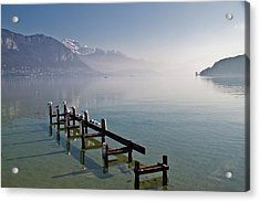 Lake Annecy (lac D'annecy) Acrylic Print by Harri's Photography