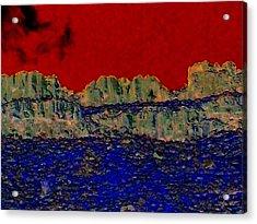 Lake Billy Chinook 3 Acrylic Print by Randall Weidner
