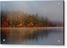 Acrylic Print featuring the photograph Lake Chocorua Sunrise by Nancy De Flon