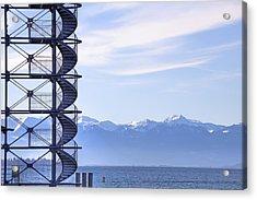 Lake Constance Friedrichshafen Acrylic Print by Joana Kruse