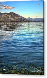 Lake Cowichan Bc Acrylic Print