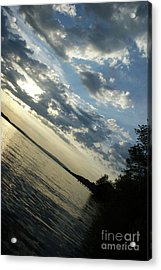 Lake Down Acrylic Print by Bruno Santoro