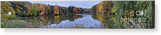 Acrylic Print featuring the photograph Lake Eastman by William Norton