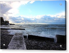 Lake Erie Fall Acrylic Print by Kevin Schrader