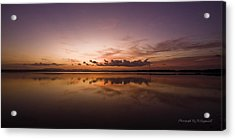 Acrylic Print featuring the digital art Lake Forster Nsw 01 by Kevin Chippindall