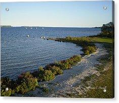 Lake Huron Shoreline Collection - St. Ignace Mi Acrylic Print