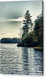 Lake In Nh Acrylic Print by Edward Myers