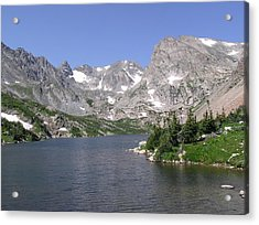 Lake Isabelle And The Continental Divide Acrylic Print
