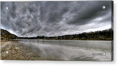 Acrylic Print featuring the photograph Lake Logan Panorama by Brian Stevens