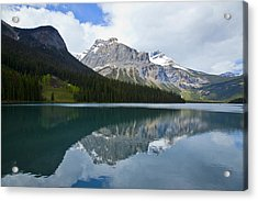 Lake Louise 1819 Acrylic Print by Larry Roberson
