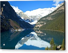 Lake Louise 1827 Acrylic Print by Larry Roberson