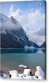 Lake Louise  Canada Acrylic Print by Serene Maisey