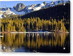 Acrylic Print featuring the photograph Lake Mary Reflections by Lynn Bauer
