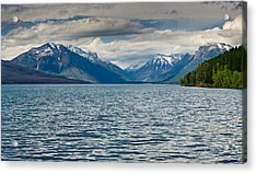 Lake Mcdonald Upon Storm Clearing Acrylic Print