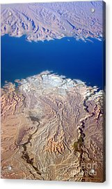 Lake Mead Nevada Aerial Acrylic Print by James BO  Insogna