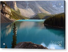 Acrylic Print featuring the photograph Lake by Milena Boeva