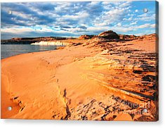 Lake Powell Serenity Acrylic Print by Thomas R Fletcher