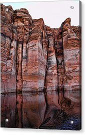 Lake Powell Water Canyon Acrylic Print by Jon Berghoff