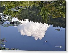 Lake Reflection Acrylic Print