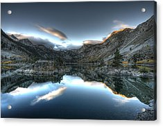 Lake Sabrina Bishop Ca Acrylic Print