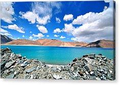 Lake Acrylic Print by Saira Ks