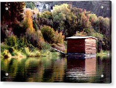 Lake Shed Acrylic Print