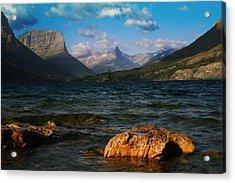 Lake St Mary Glacier National Park Acrylic Print