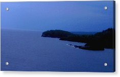 Lake Superior Acrylic Print by Shweta Singh