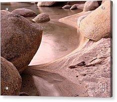Lake Tahoe Calmness Acrylic Print