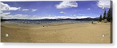 Acrylic Print featuring the photograph Lake Tahoe by Paul Plaine
